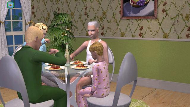 [série romance histoire de famille] La famille Grandier à Montsimpa Sims2e15