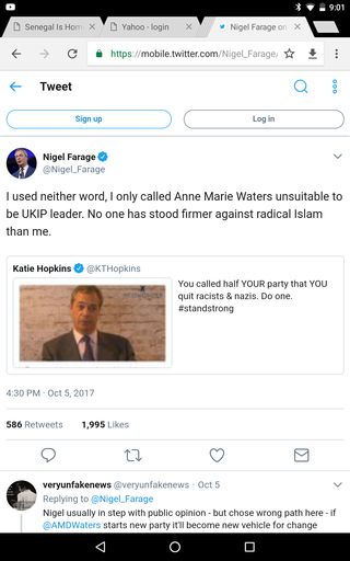 Nigel Farage V Katie Hopkins Screen34