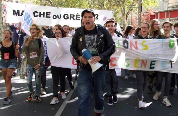 Manisfestation du Front Social 04  du 12 septembre 20170910
