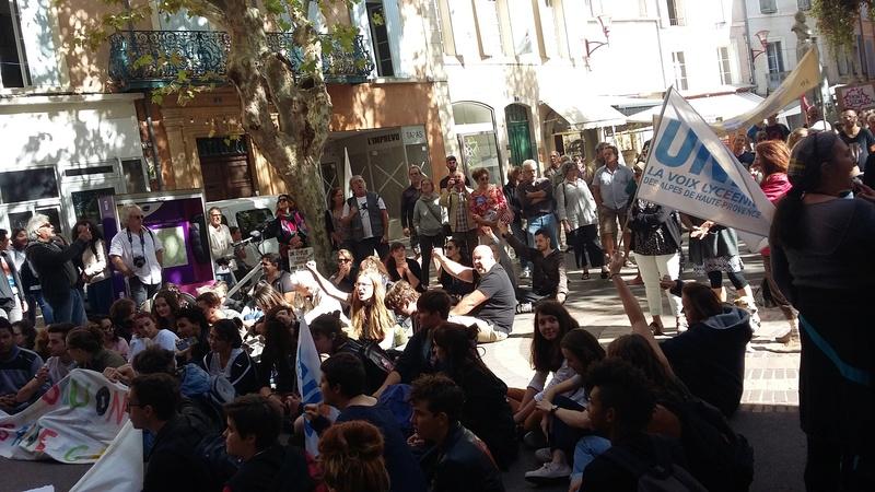 Manisfestation du Front Social 04  du 12 septembre 20170912