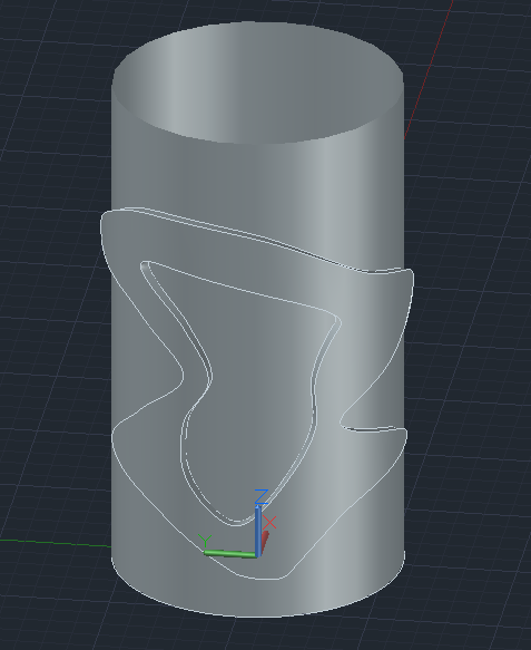 【回帖精華】AutoCad可以做類似浮雕環繞於圓柱的效果嗎? - 頁 3 Captur11