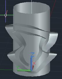 【回帖精華】AutoCad可以做類似浮雕環繞於圓柱的效果嗎? - 頁 3 Captur14