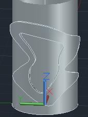 【回帖精華】AutoCad可以做類似浮雕環繞於圓柱的效果嗎? - 頁 3 Captur15