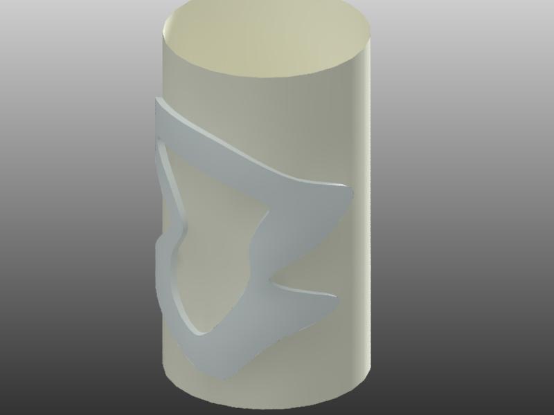 【回帖精華】AutoCad可以做類似浮雕環繞於圓柱的效果嗎? - 頁 3 Drawin10