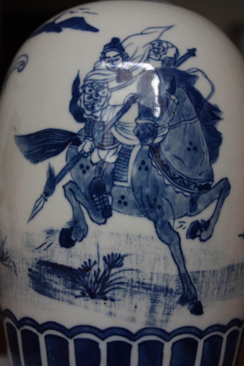 Chinese blue and white jar Img_1222