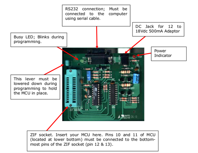 Getting Started with ALEXAN ATMEL AT89C2051 Programmer Module10