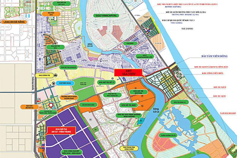 Đất nền ven biển Đà Nẵng, Khu đô thị Sea View, Sổ đỏ chính chủ, 130m2, giá 8tr/m2 Dat-ne12