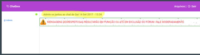 Chatbox mensagem automática Screen10