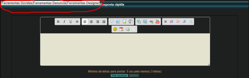 Edição de código Screen11