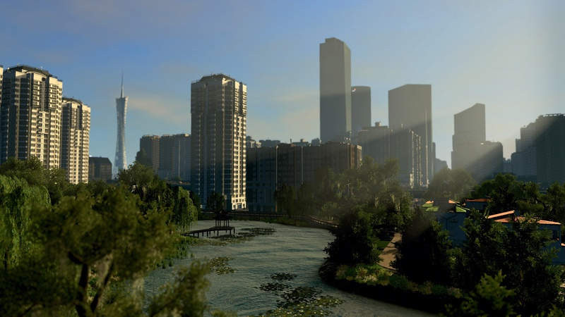 Simulation: Canton, Chine 20170815