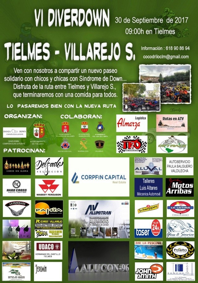 DIVERDOWN TIELMES 2017 Cartel12