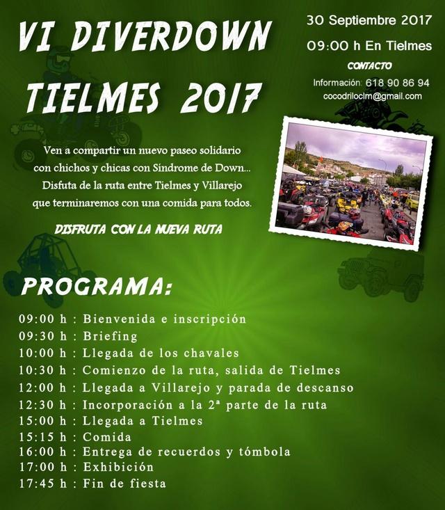 DIVERDOWN TIELMES 2017 Cartel13