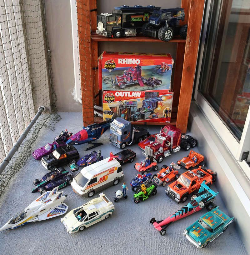 Ma collection : Mega Force, M.A.S.K. , extranimals, .... Img_5113