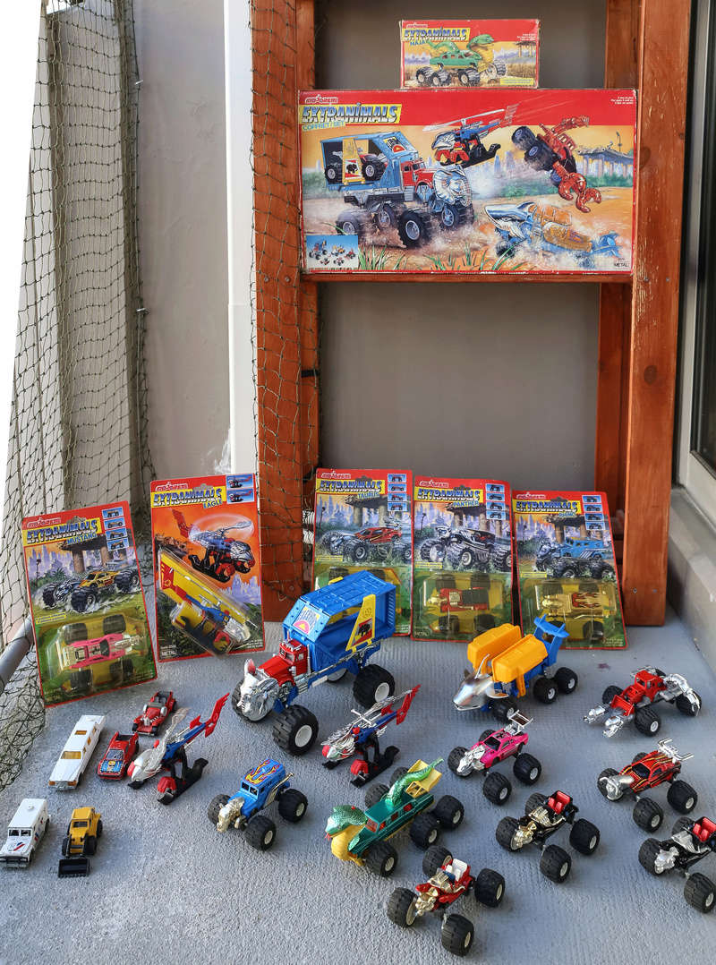 Ma collection : Mega Force, M.A.S.K. , extranimals, .... Img_5117