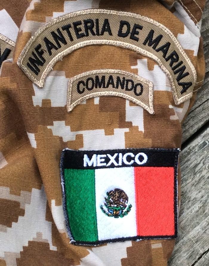 Mexican Commando Marine Camouflage Top Mex_ca10