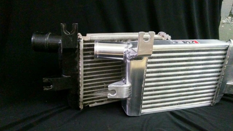 Intercooler Mitsubishi L200 Interc16