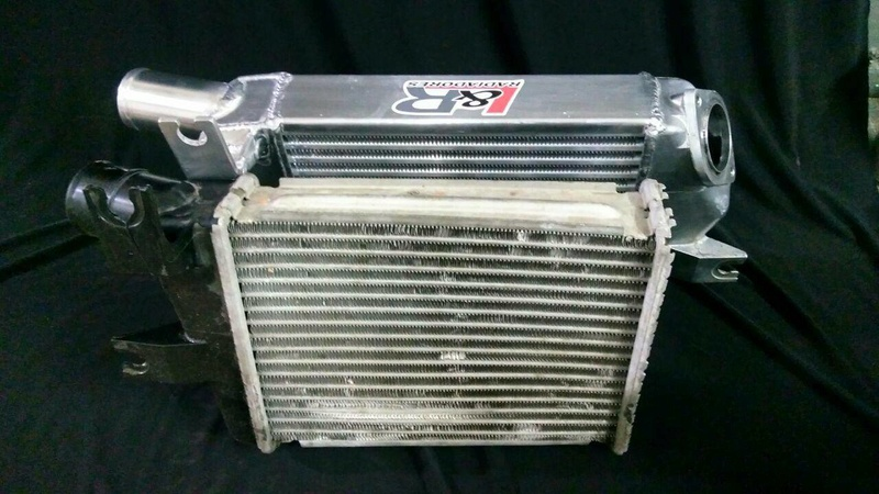Intercooler Mitsubishi L200 Interc17