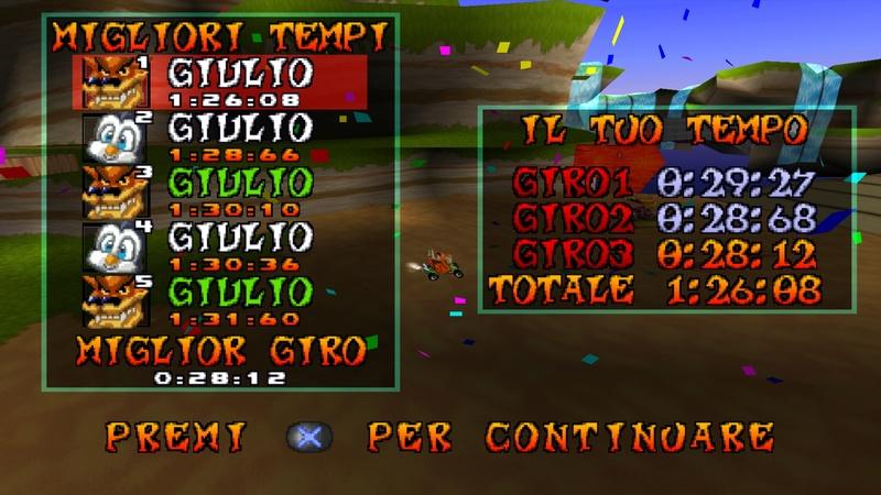 Tonno95's record on Crash Cove Baia_c10