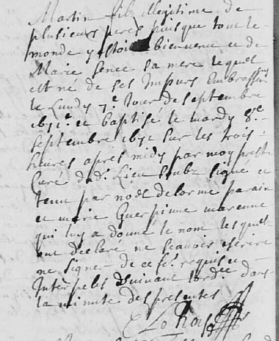 [curiosité] - Actes originaux qui changent de l'ordinaire (suite 4) - Page 2 Martin11
