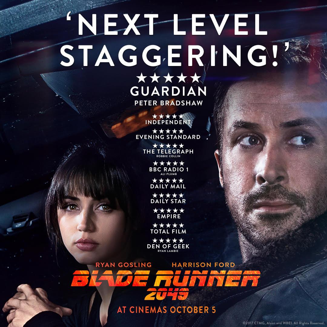 BLADE RUNNER 2049 5/5 STARS! Nextle10