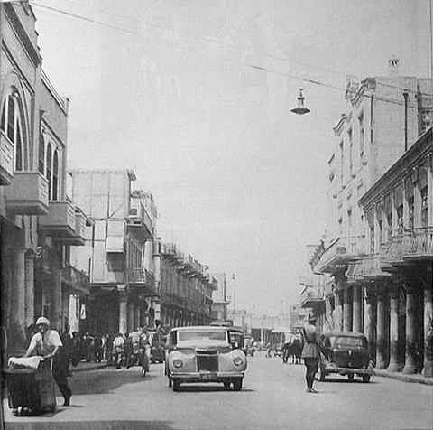 بغداد  شارع الرشيد أيام زمان __oa_a10