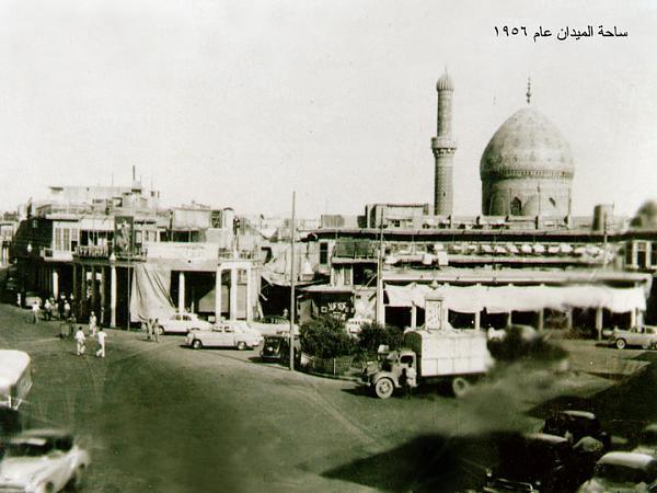 بغداد ساحة الميدان عام 1956 __ooao11