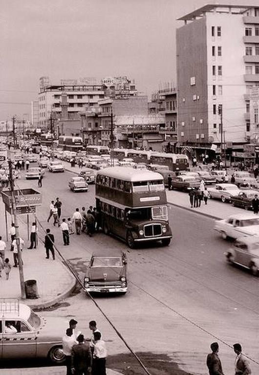 بغداد شارع السعدون 1966 __ouo_10