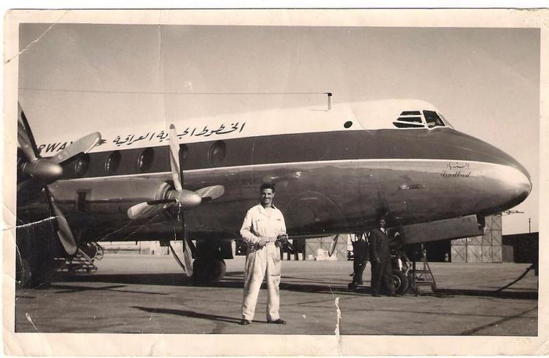 طائرة – السندباد – الخطوط الجوية العراقية قديمآ _eo_oo10