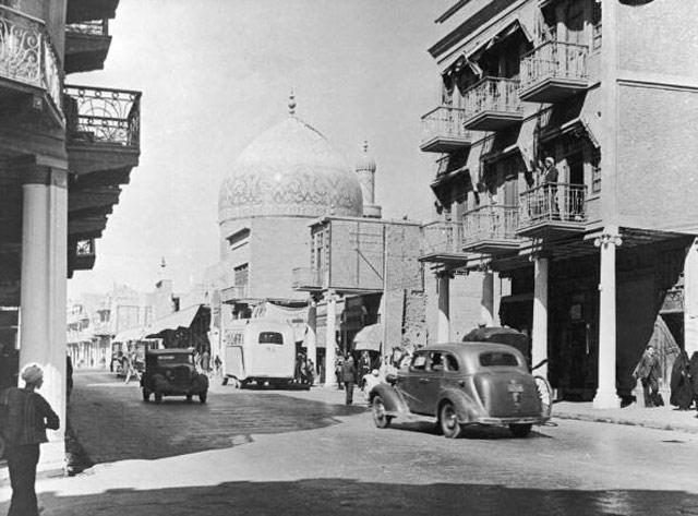 شارع الرشيد جامع الحيدر خانه قديمآ _oa_o_11