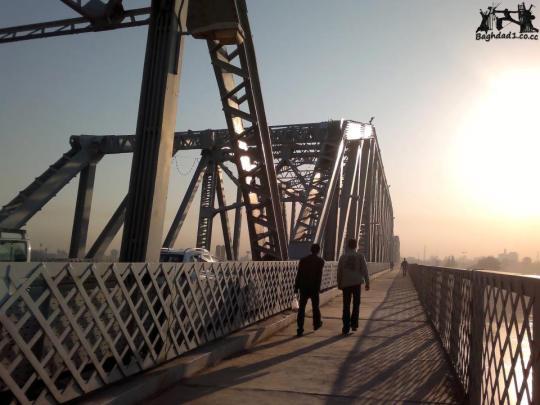 بغداد / جسر الصرافية  _oeia10