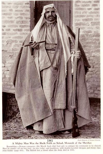 أحد وجهاء عشائر العراق عام 1941م _uuy__10