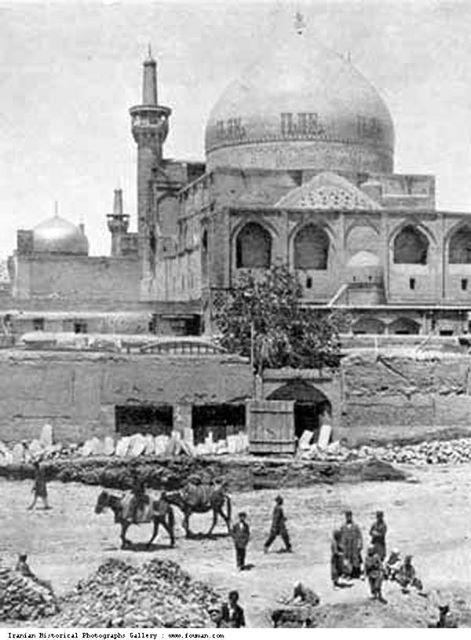 صورة قديمة ونادرة مرقد الإمام علي بن موسى الرضا عليه السلام Eu_iao10
