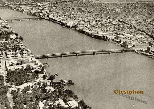 صورة لنهر دجلة والعاصمة بغداد من أعلى Euu_oo10