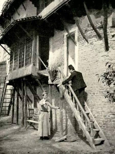 البيت البغدادي في زمن العثمانيين  1914 Oa_oa_10