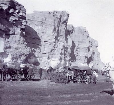 الطريق الى حلب عام 1904م Oai_oy10