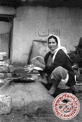 ( صورة بغداديه) التـنور العراقي  Oeou_o10