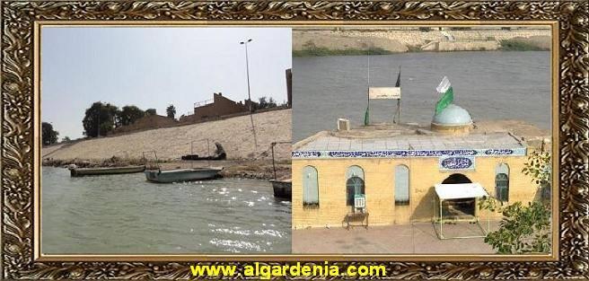 مقام الخضر الواقع على نهر دجله من جانب الكرخ Oio_o_10