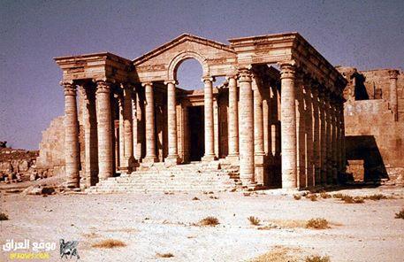 من الآثار العراقية القديمة مدينة الحضر في الموصل Oo_o_o10