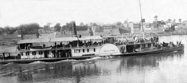 رحله نهريه في نهر دجله ببغداد عام 1918م Ou_oua10