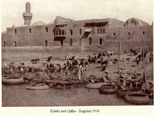 وسائل النقل  قديمآ في العراق 1914م Uo_ooi10