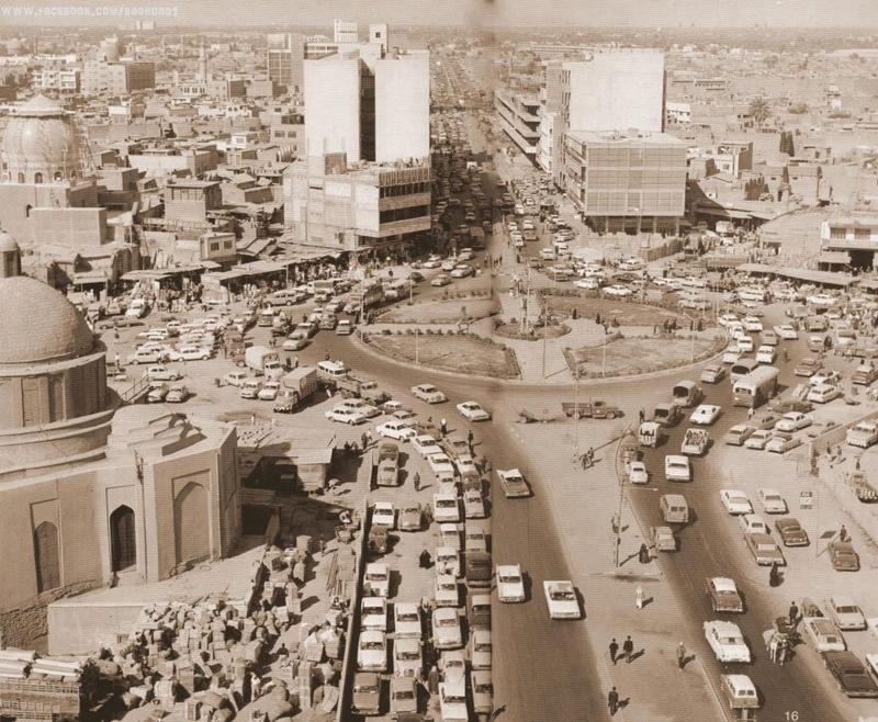 هذه صورة للشورجة أيام زمان والصورة هي للكنيسة الواقعة الآن قرب السوق العربي وعمارة الضمان Uu_eu_10