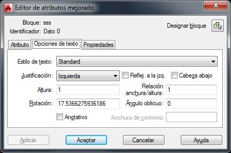 Texto a Bloque Atributo Editor10