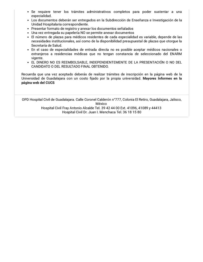 Convocatoria Hospitales Civil Guadalajara 2018 Hcg-op13