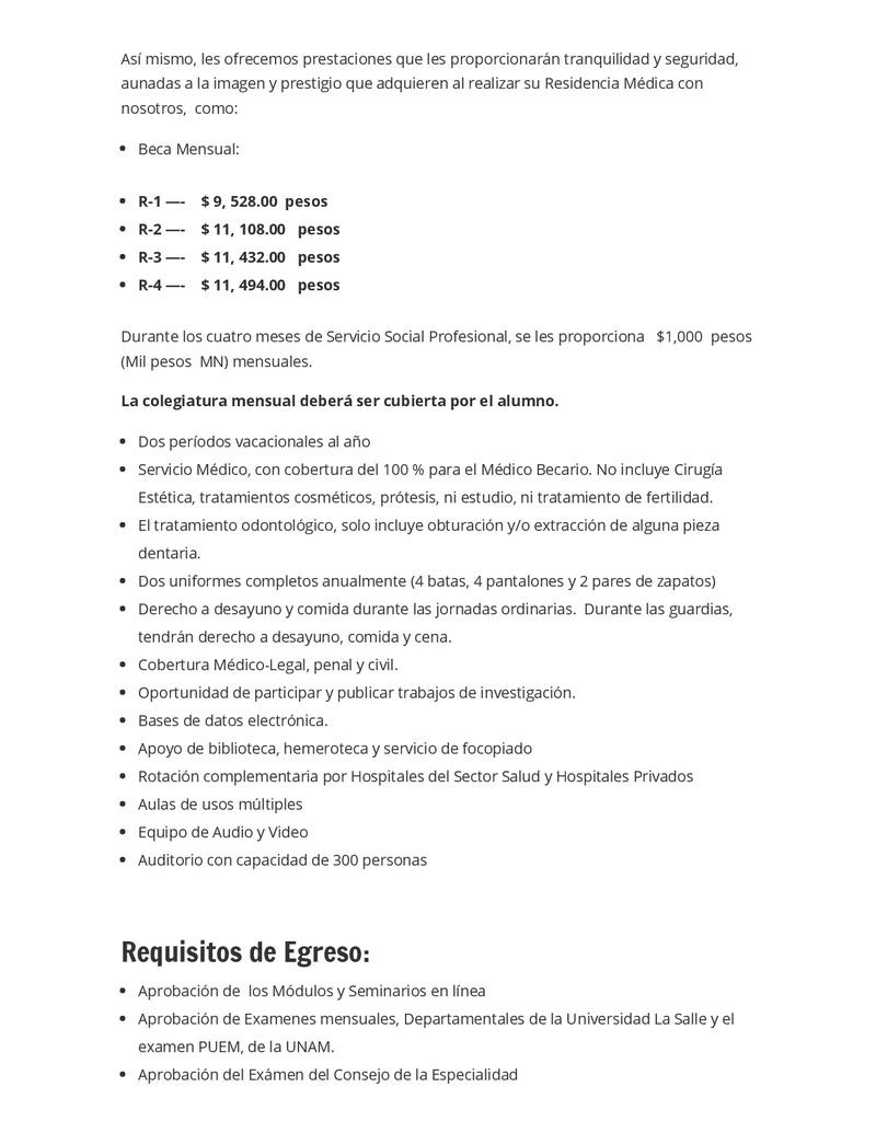 CONVOCATORIA SANATORIO DURANGO 2018 Reside14