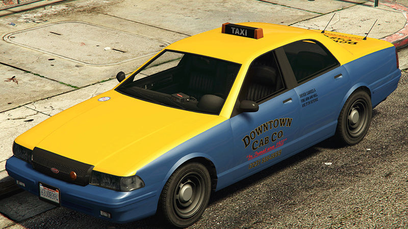 Downtown Cab Co. Taxi-g11