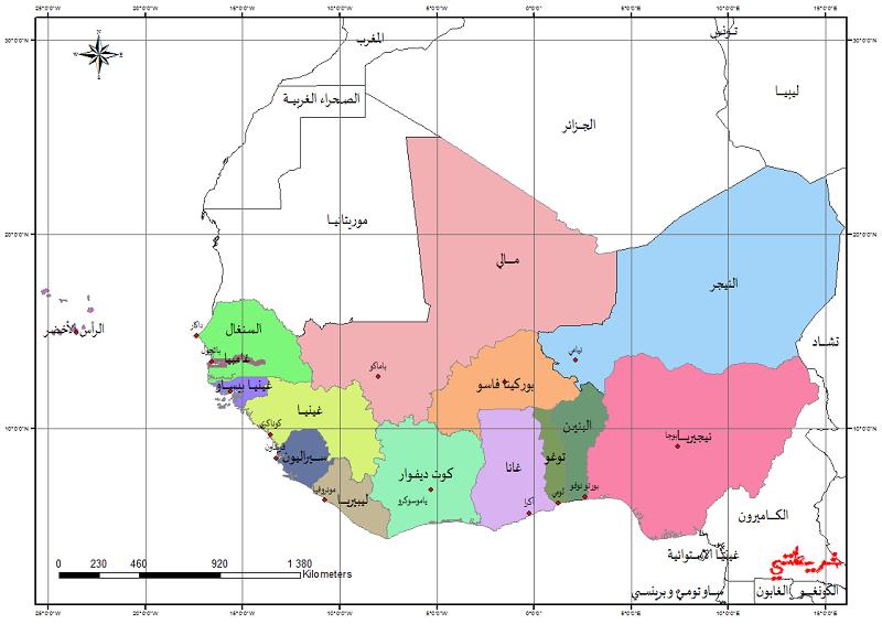 تحميل خرائط القارات: إفريقيا، أوروبا، أمريكا، الأوقيانوسيا A--aia10