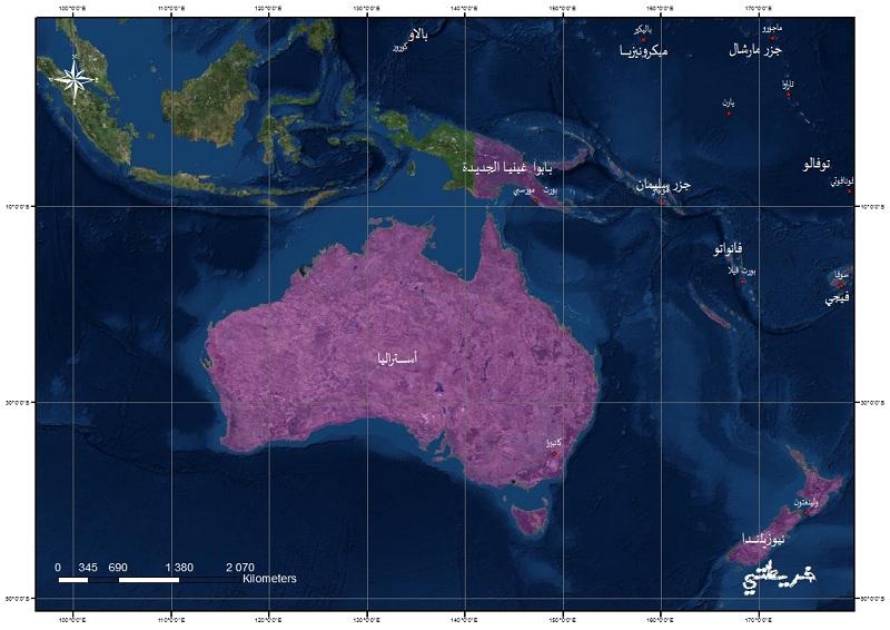 تحميل خرائط القارات: إفريقيا، أوروبا، أمريكا، الأوقيانوسيا A-uiao10