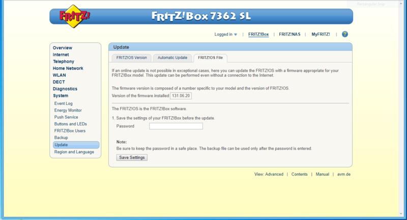 Cambiare Annex e possibilmente lingua al 7362SL 1&1 - Pagina 10 7362sl11