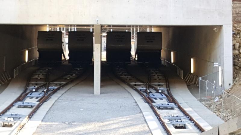 """Création nouvelle gare ferroviaire """"Pont Rouge"""" et création d'un funiculaire  20170310"""