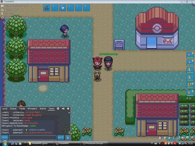 Screen di gioco Blackp10